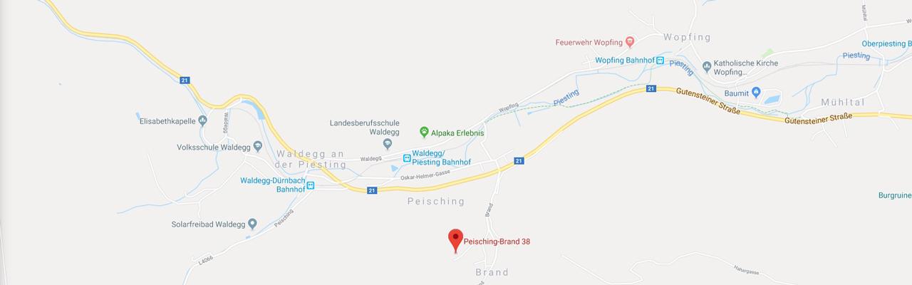 Kontakt - Forum Waldegg, Peisching-Brand 38, 2754 Waldegg